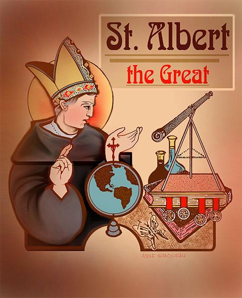 Thánh Albertô Cả:  một nhà uyên bác và cũng là một vị thánh lớn của Giáo Hội