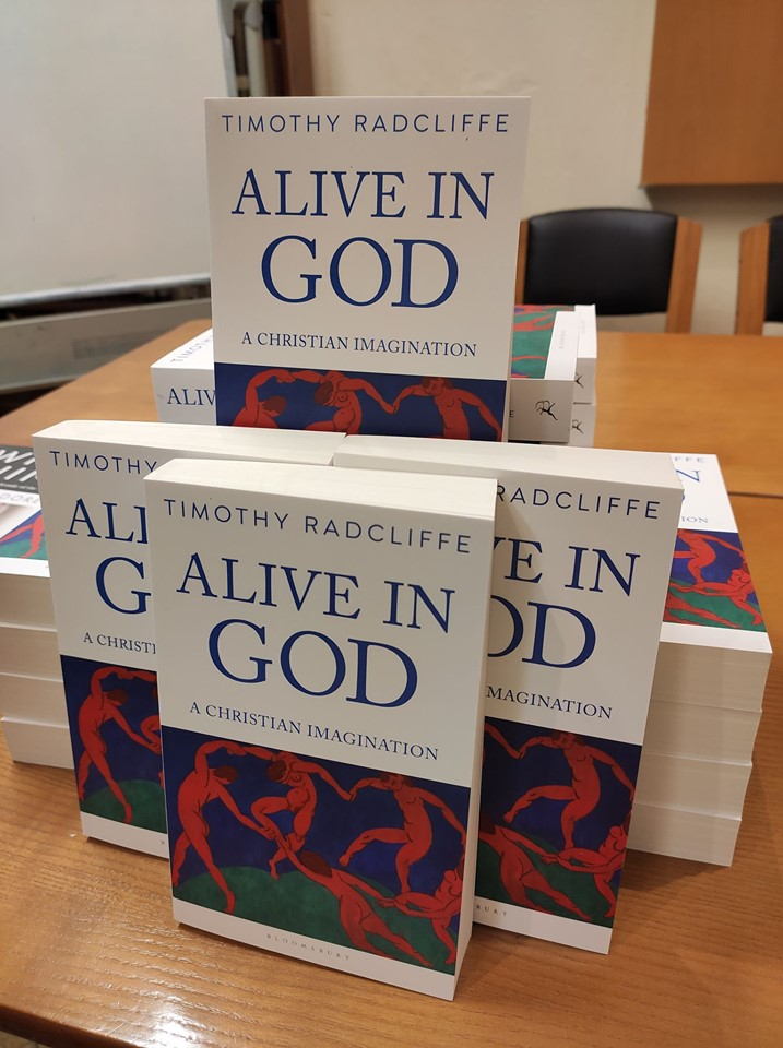Sách mới của Cha Timothy Radcliffe - Alive in God - A Christian Imagination