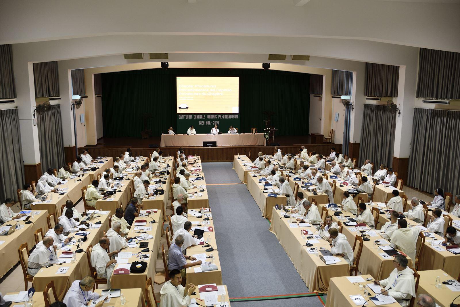 Tổng Hội Dòng Đa Minh – Capitulum Generale 2019 - đang diễn ra tại Tòa Giám Mục Xuân Lộc