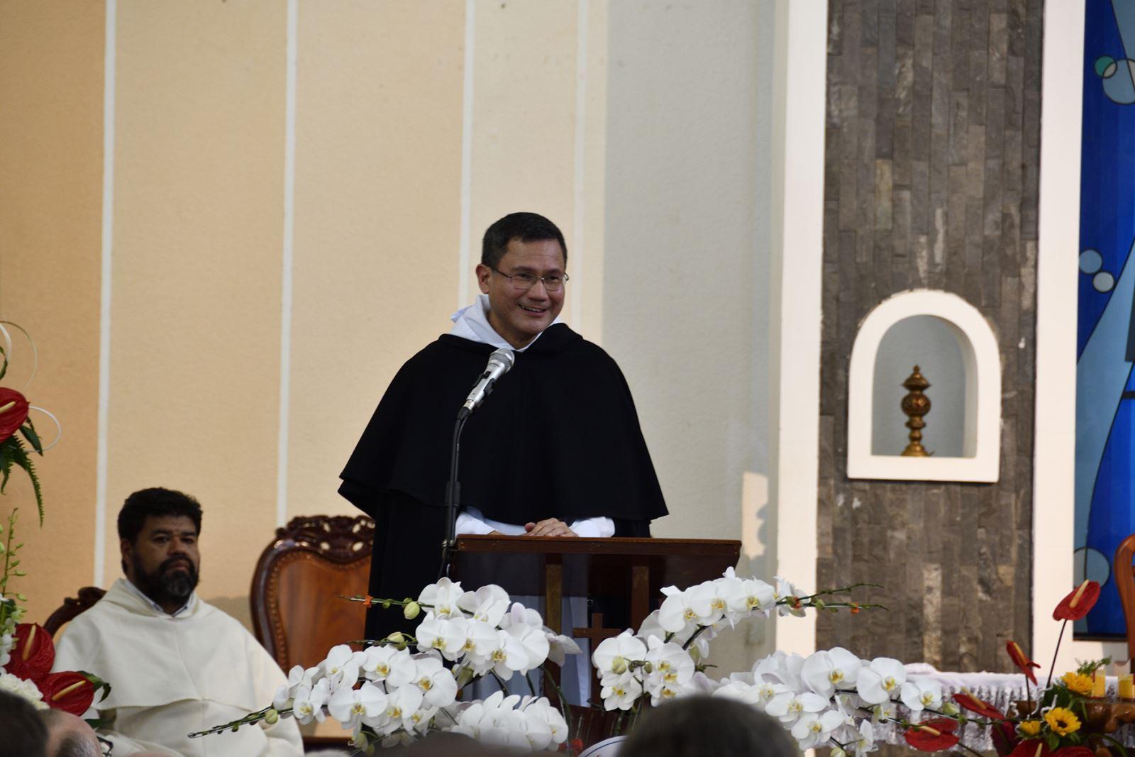 Tân Bề Trên Tổng Quyền Dòng Đa Minh: Cha Gerard Francisco Parco Timoner III - người Philippines
