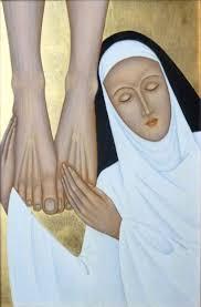 Chúa Giêsu giải thích với Thánh Catarina làm thế nào để yêu Ngài với tình yêu lớn lao.