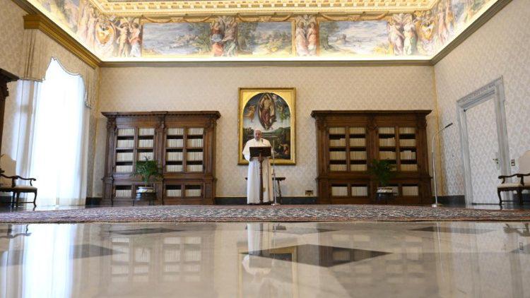 ĐTC Phanxicô: Tìm kiếm Đức Kitô nghĩa là phám phá ra sự bình an ở trong tâm hồn