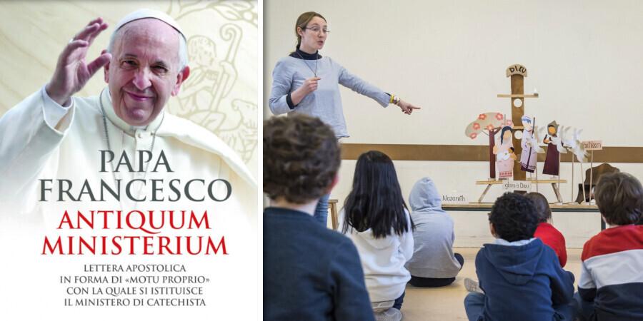 """Tông thư thiết lập thừa tác vụ Giáo lý viên – """"Antiquum Ministerium - Thừa tác vụ cổ kính"""""""