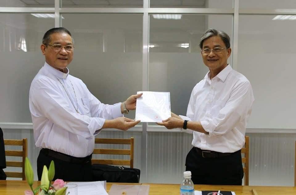 Cha Giuse Ngô Sĩ Đình, O.P được bổ nhiệm làm Giám đốc Caritas VN và Tổng Thư Ký UBBAXH Việt Nam.