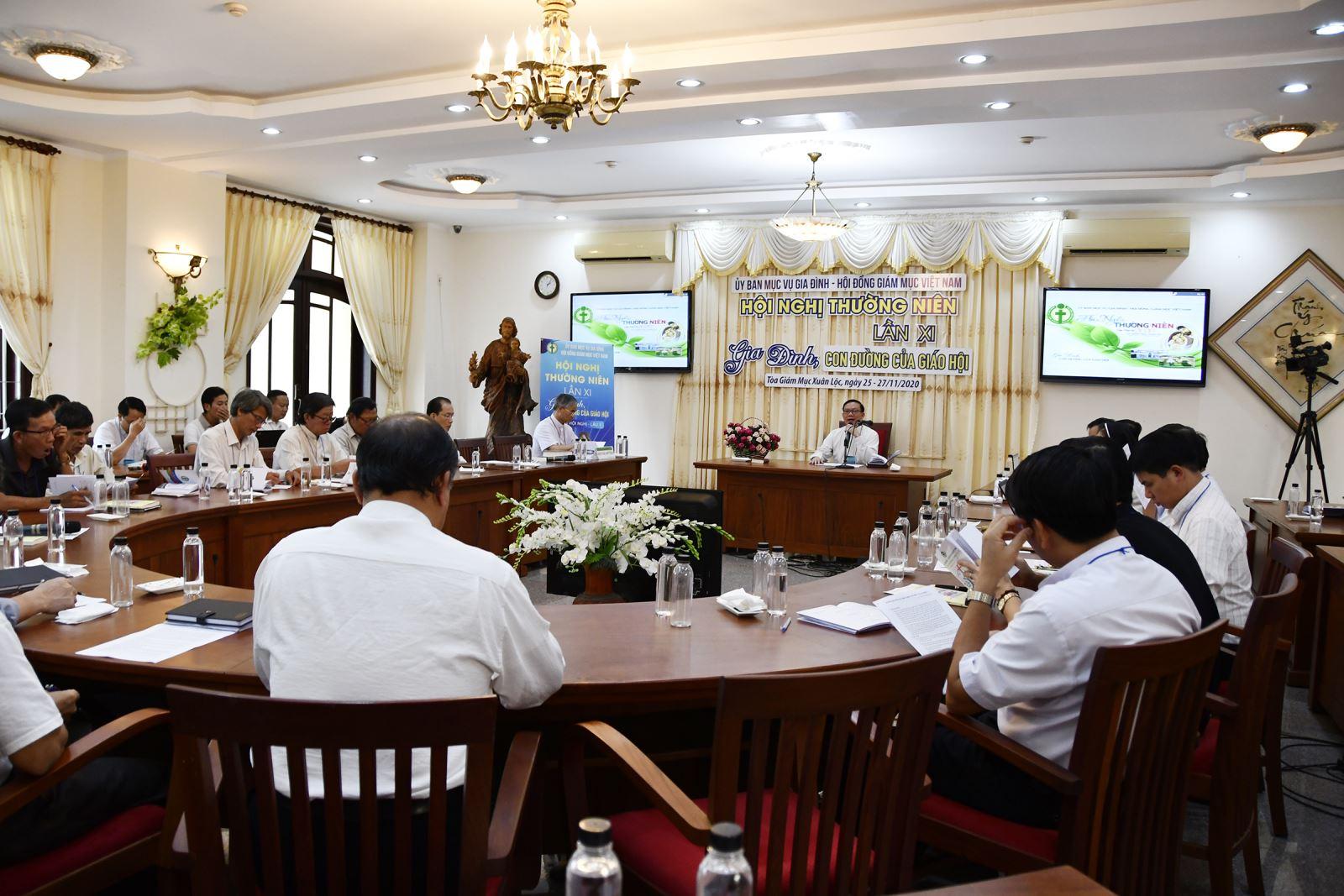 Hội Nghị Thường Niên của Ủy Ban Mục vụ Gia đình lần thứ XI- 2020: Ngày thứ hai
