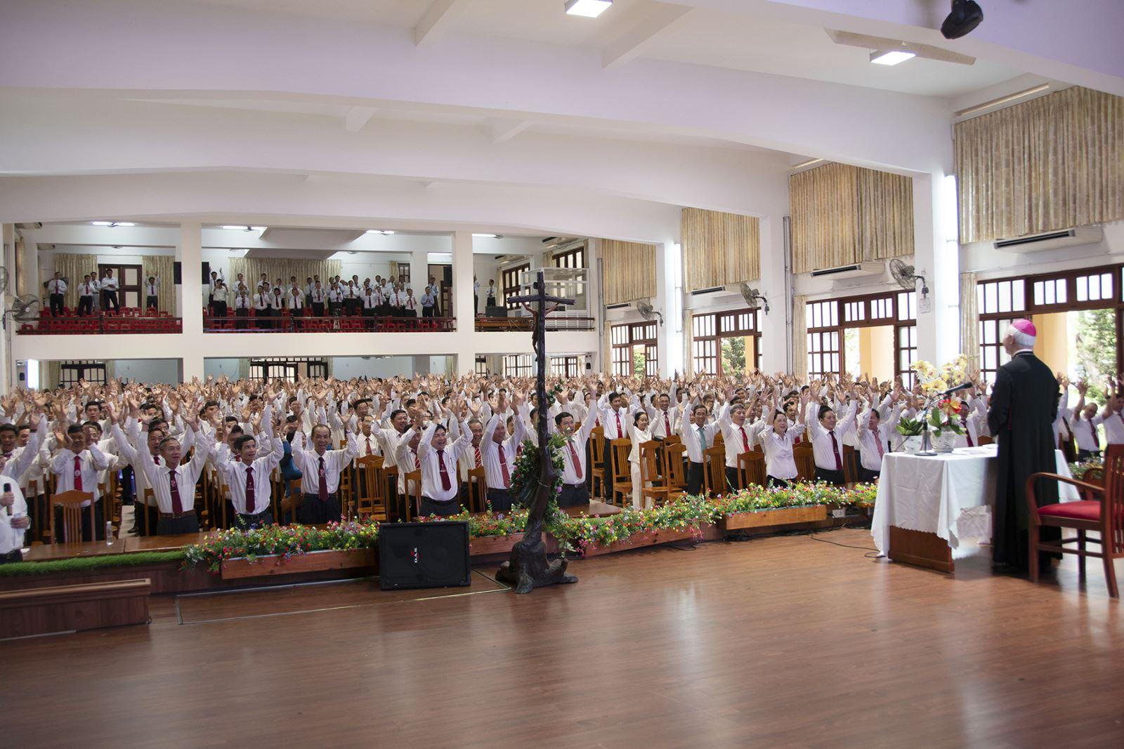 Ngày gặp gỡ truyền thống Mừng Lễ Thánh Phêrô- Phaolô, Bổn Mạng Ban Hành Giáo- Giáo phận Xuân Lộc