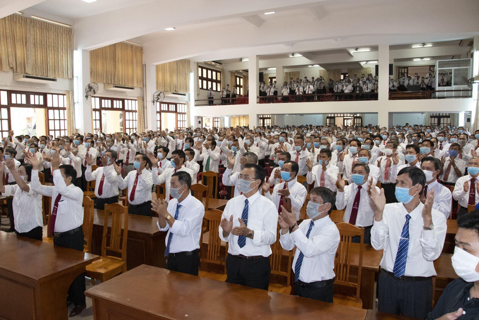 Ngày họp mặt truyền thống, Chúc Tết quý Đức Cha của Ban Hành Giáo Giáo Phận.