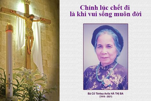 AI TÍN: BÀ CỐ TERESA AVILA HÀ THỊ BA - Thân mẫu Sr. Maria Trần Thị Sâm - thuộc Hội dòng Đa Minh Thánh Tâm qua đời