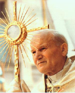 Thánh Giáo Hoàng Gioan Phaolô II với Tình Yêu Dành Cho Bí Tích Thánh Thể