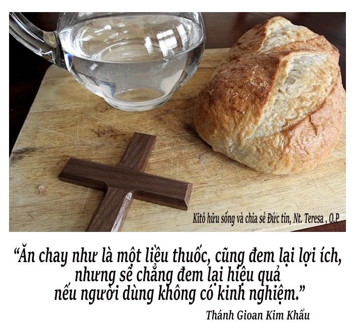 Ăn chay đúng cách - theo Thánh Gioan Kim Khẩu