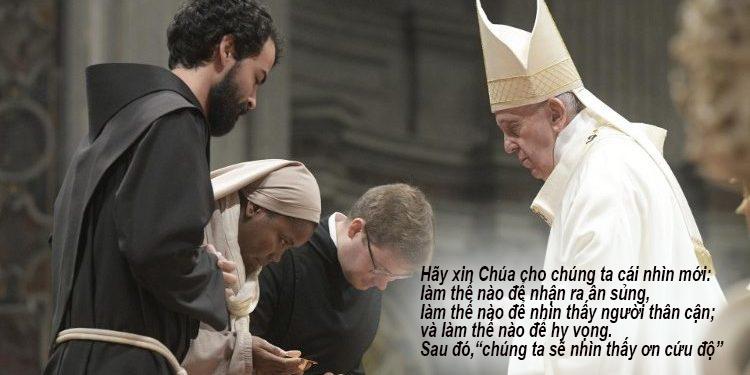 Đức Thánh Cha Phanxicô: Đời sống tu trì có nghĩa là nhận ra những gì thực đáng giá hơn hết.