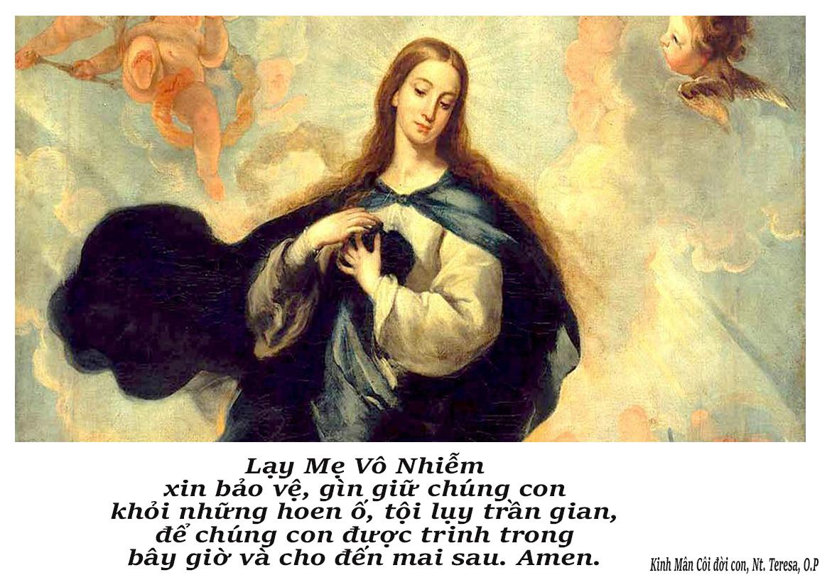 Lễ Mẹ Vô Nhiễm: Một Thiên Chúa với tình yêu và lòng thương xót vô điều kiện dành cho nhân loại