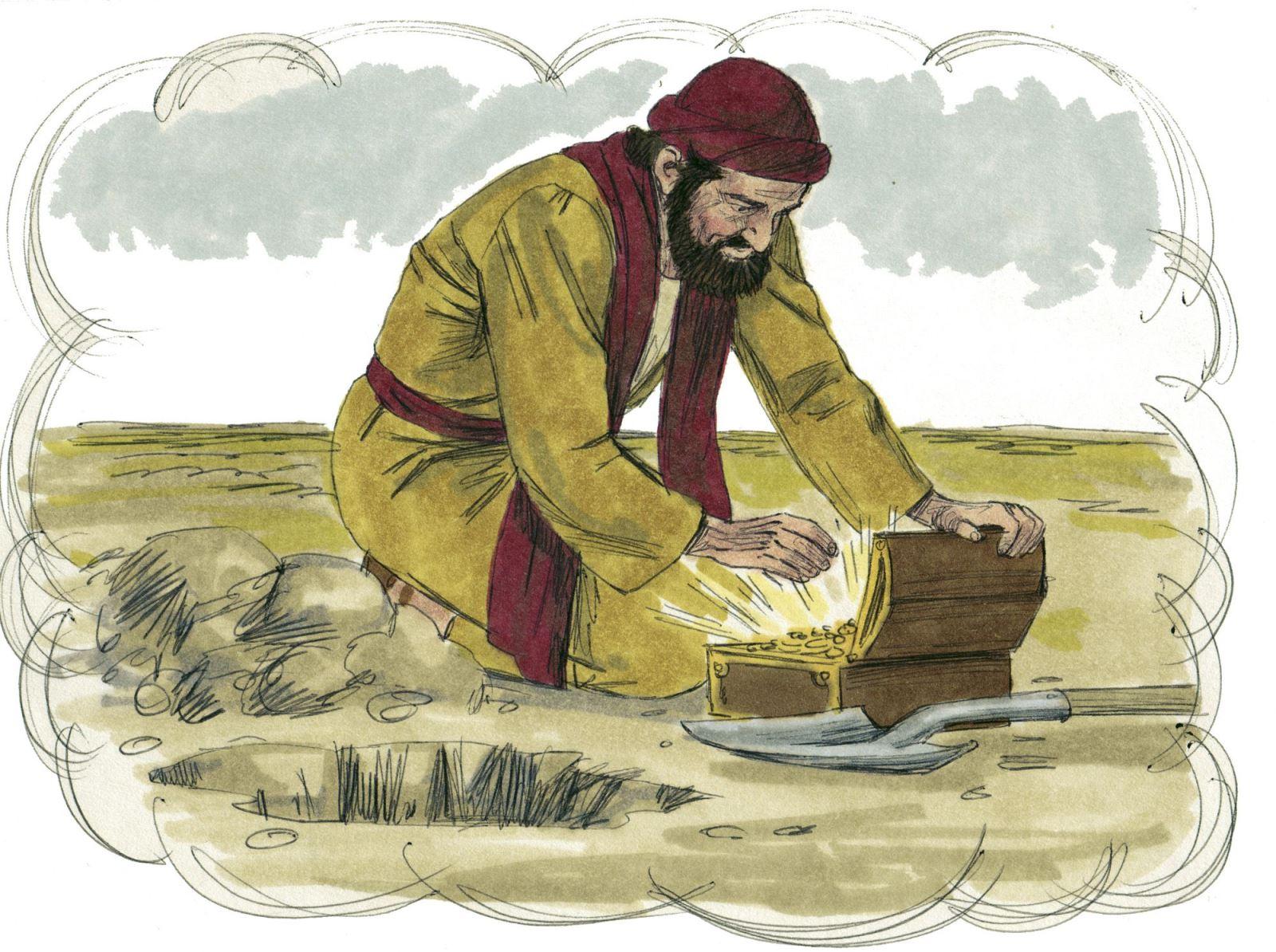Tìm kiếm, vui mừng vì được sở hữu Nước Trời. Suy niệm Chúa Nhật XVII Thường Niên.