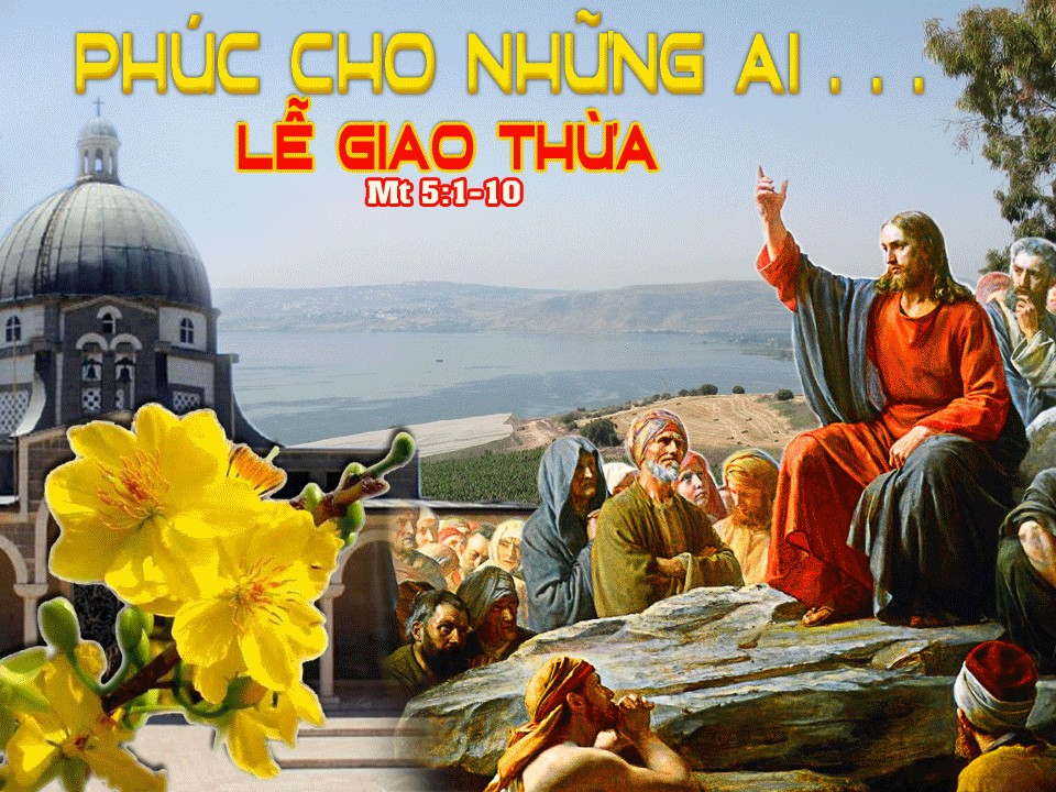 Tạ ơn và lời mời gọi sống thánh Năm Mới. Suy niệm Lời Chúa Thánh Lễ Tất Niên- Giao Thừa.