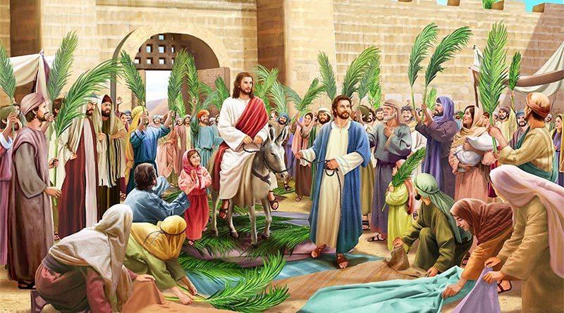 Chúa Nhật Lễ Lá năm B (Mc.14,1- 15.47)