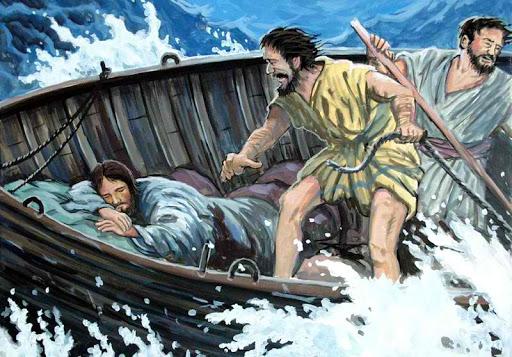 Vững tin giữa bão giông cuộc đời. Suy niệm Lời Chúa Thứ Bảy Tuần III Thường Niên, Năm B