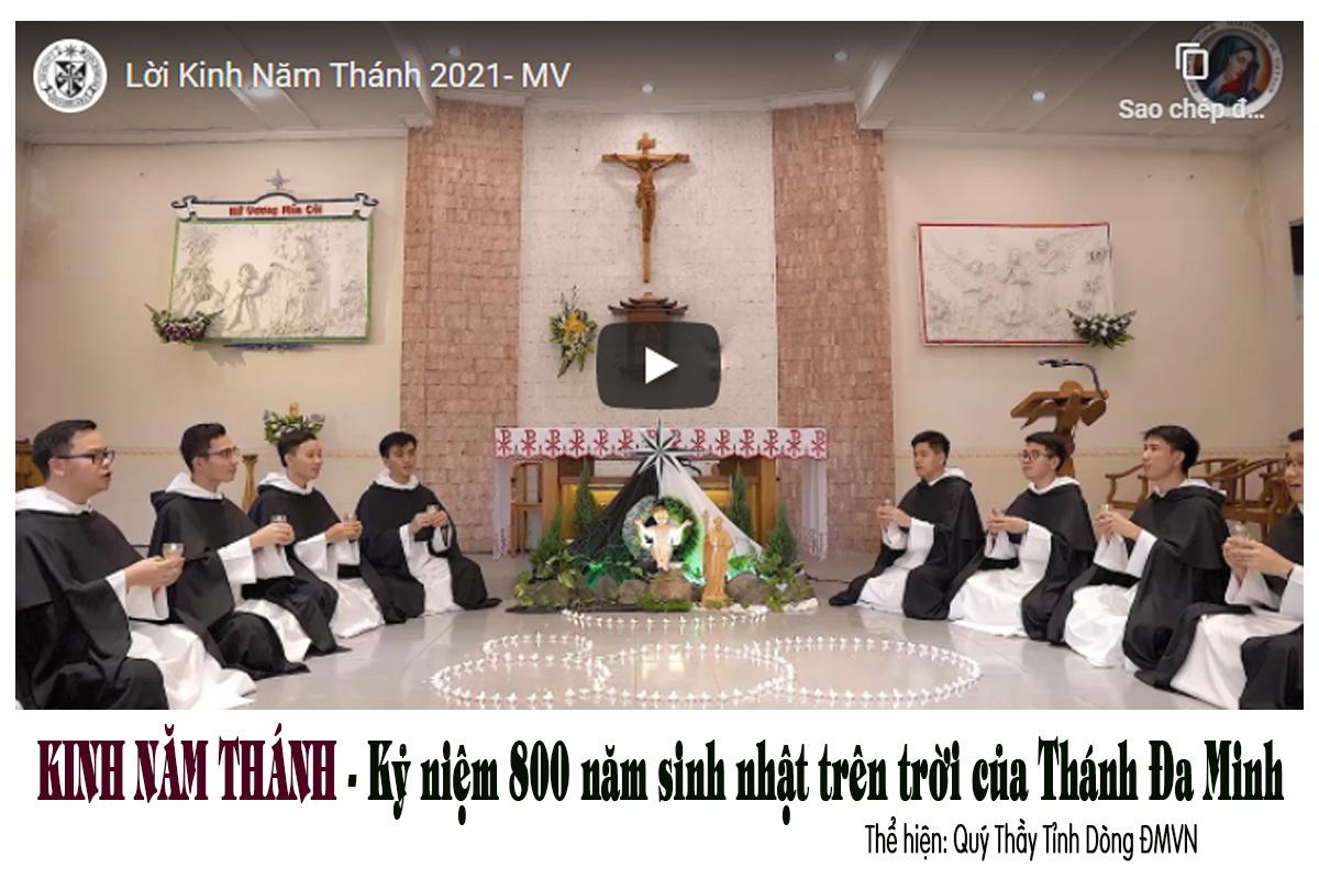 Bài hát chính thức năm thánh Đồng bàn với Thánh Đa Minh - Lời Kinh Năm Thánh