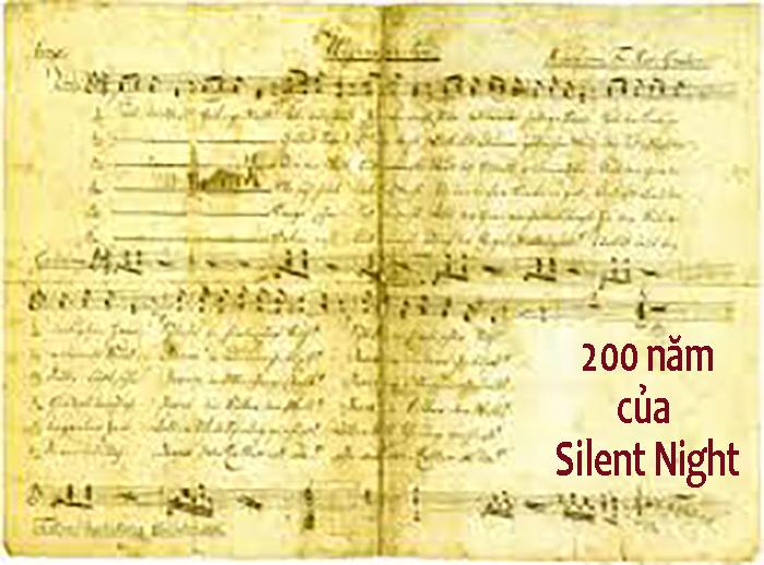 "Áo: Mừng kỷ niệm 200 năm ""Silent Night"" ra đời"