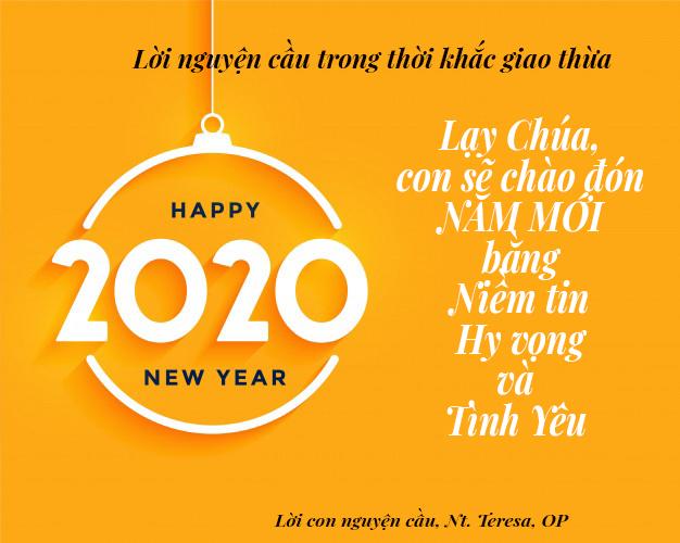 Chào đón Năm Mới với NIỀM TIN – HY VỌNG và TÌNH YÊU
