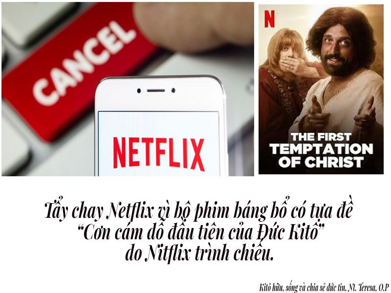 """Hàng triệu người đồng ký tên chống lại Netflix vì bộ phim xúc phạm, báng bổ""""Cơn cám dỗ đầu tiên của Đức Kitô"""""""