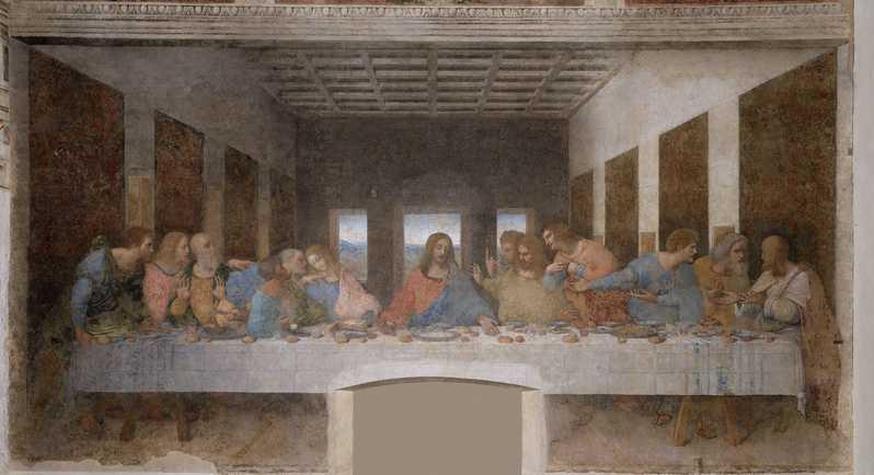 Bài học thiêng liêng từ câu chuyện hư cấu: Leonardo đã dùng cùng một người mẫu để vẽ Đức Giêsu và Giuđa trong bức tranh ``Bữa Tiệc Ly``
