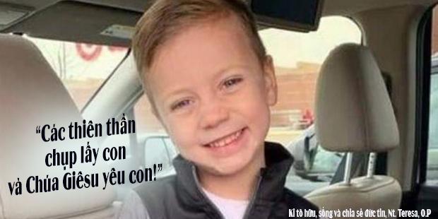 """""""Các thiên thần đã chụp lấy con và Chúa Giêsu yêu con"""" – Landen, 5 tuổi đã nói như thế sau khi bị ném ra khỏi ban công từ tầng 3 siêu thị"""